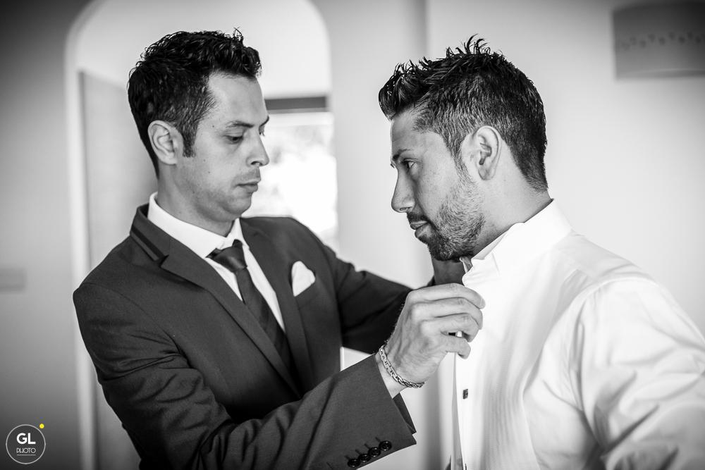 sposo e testimone