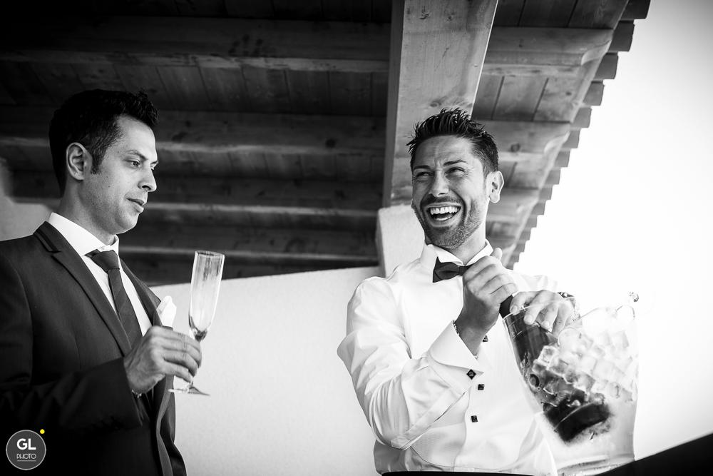 fotografia di matrimonio - sorrisi