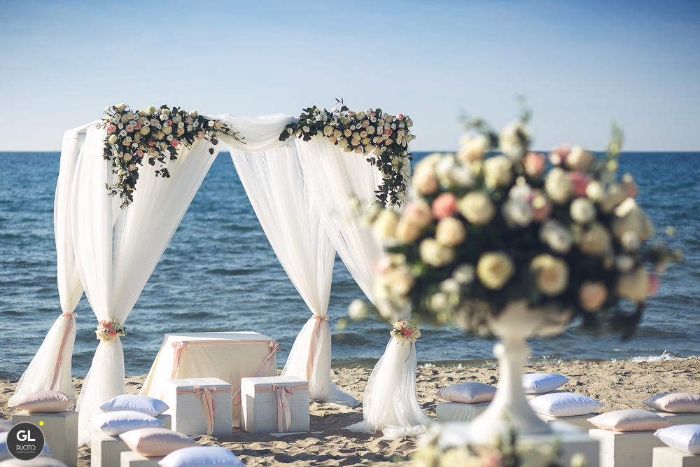 matrimonio sul mare - sara events