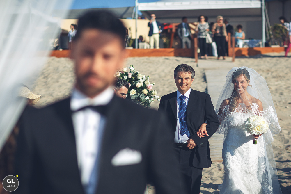 luxury wedding al mare