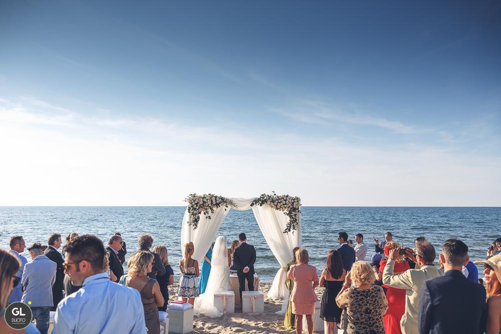 cerimonia al mare - sardegna