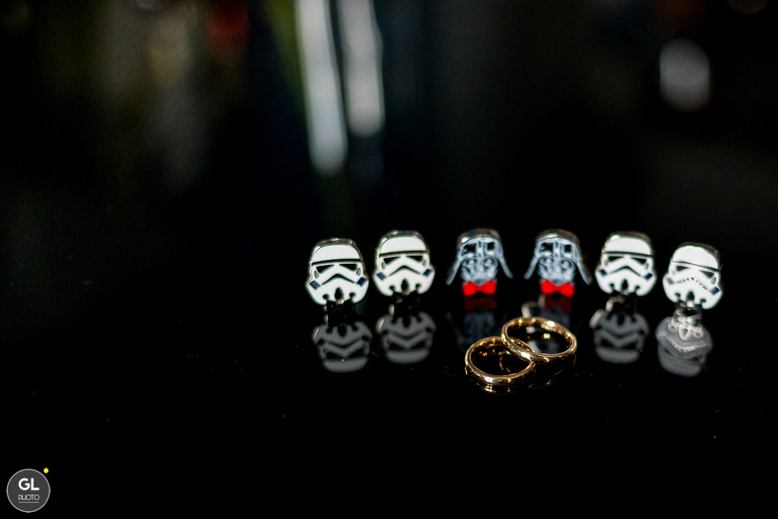 Star Wars Wedding Details