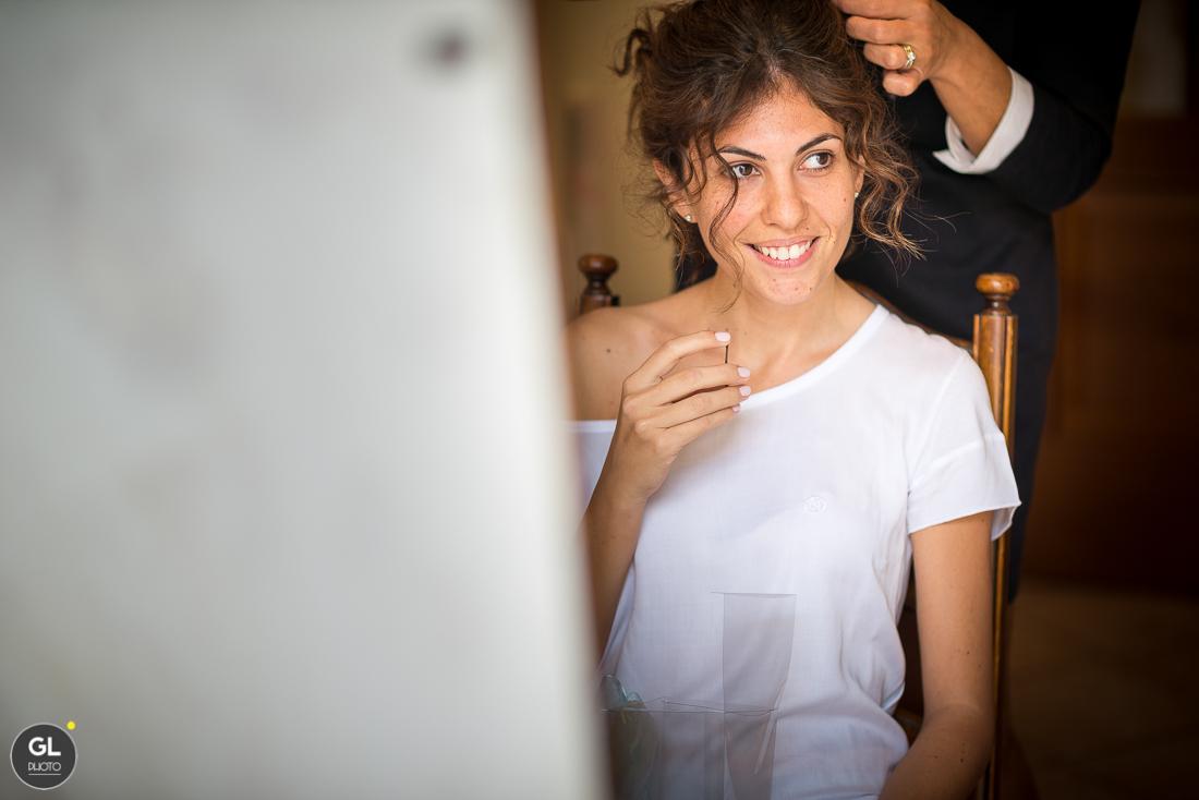 preparativi della sposa