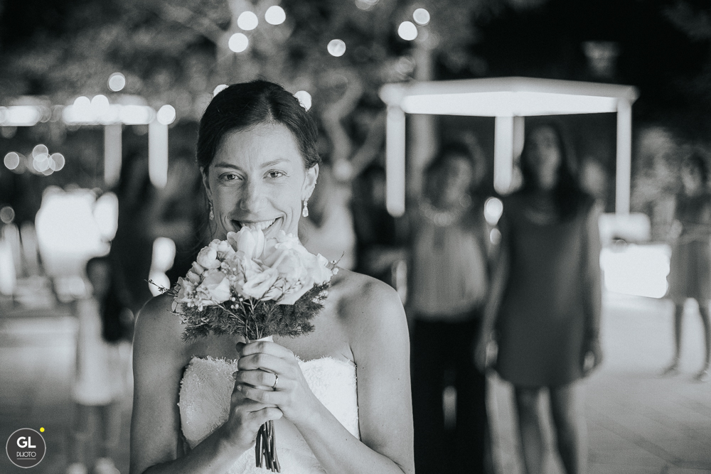 il lancio del bouquet