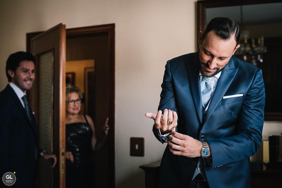 preparativi sposo