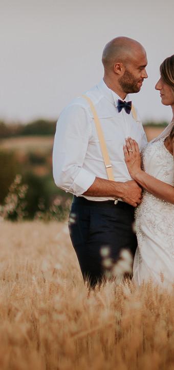 Matrimonio in Monferrato: il giorno di Emanuele e Sara