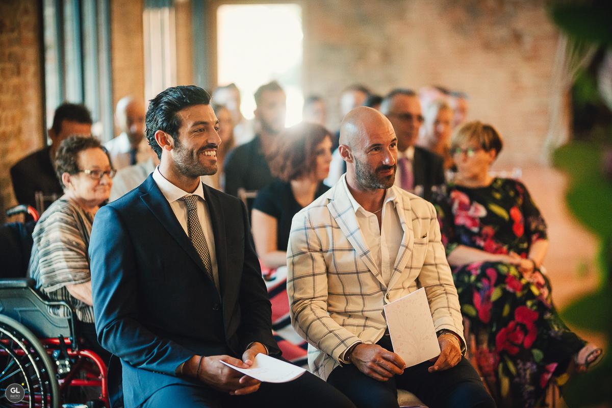 testimoni dello sposo
