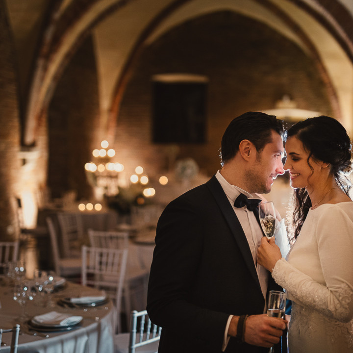 Alessia e Giacomo: storia di un matrimonio d'inverno