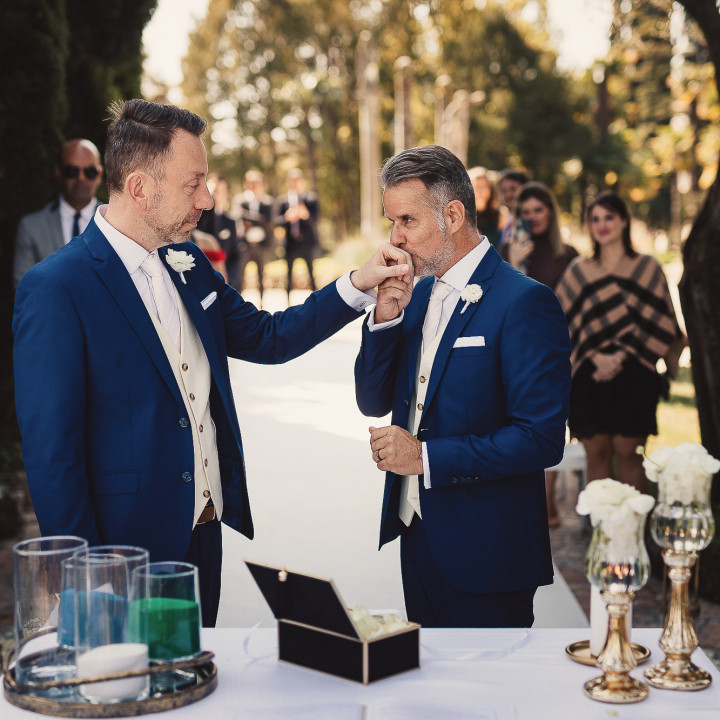 Love is love Carlos & Marcos | same sex wedding on Garda Lake